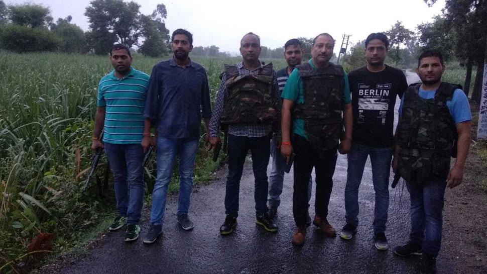 मुजफ्फरनगर: पुलिस को चकमा देकर बदमाश हुआ था फरार, मुठभेड़ में साथी के साथ हुआ ढेर