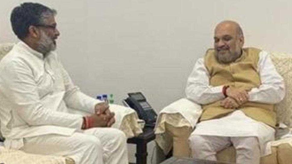 आज दोपहर BJP की सदस्यता ले सकते हैं नीरज शेखर, अमित शाह से हुई मुलाकात