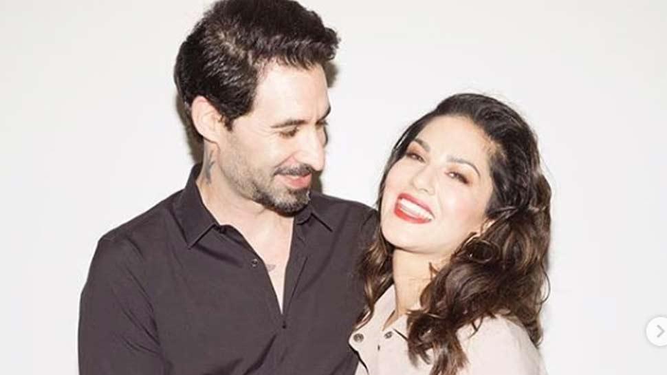 सनी लियोनी ने पति के साथ शेयर की PHOTO, फैंस बोले- 'परफेक्ट जोड़ी'