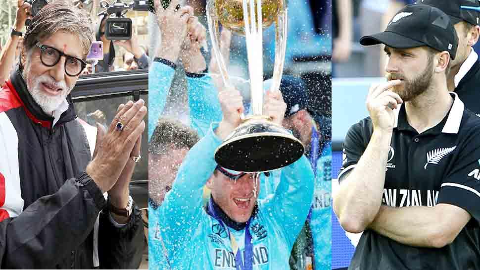 World Cup: अमिताभ बच्चन ने न्यूजीलैंड की हार पर ICC Rules का उड़ाया मजाक, कहा-  प्रणाम गुरुदेव