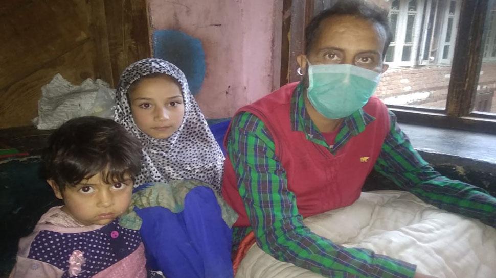 जम्मू-कश्मीर: 'दो जून की रोटी' को मोहताज परिवार को जब मिला सीआरपीएफ का सहारा