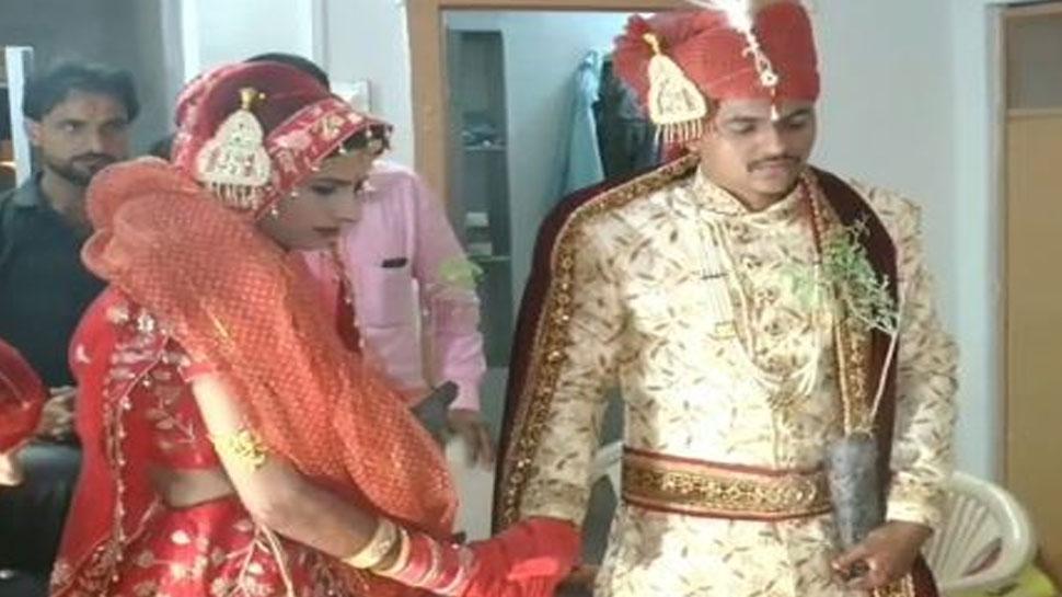 बीकानेर: वर-वधु ने पोधों को साथ लेकर लगाए शादी के फेरे, दिया पर्यावरण सरंक्षण का संदेश