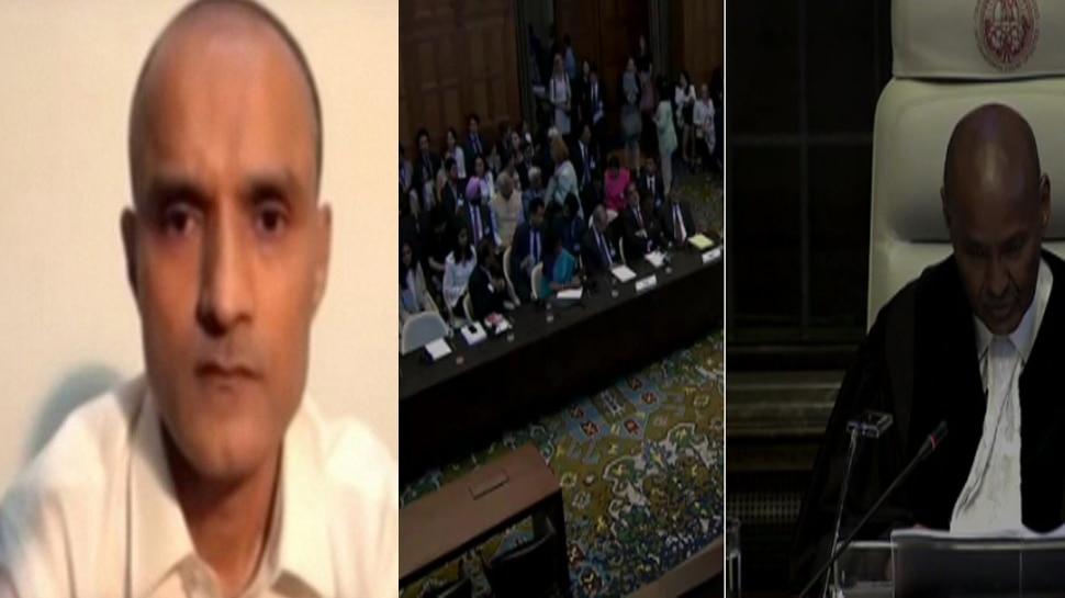 ICJ अदालत में पाकिस्तान जज ने कुलभूषण जाधव को बताया जासूस, वियना संधि पर दी ये दलील