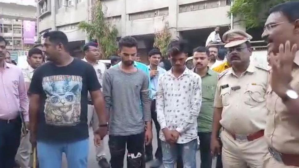 नागपुर: संतरा मार्केट में तोड़-फोड़ कर रहे बदमाशों को पुलिस ने किया गिरफ्तार, निकाली परेड