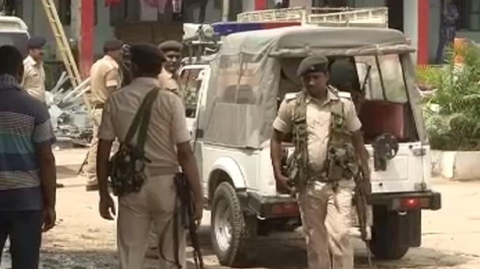 आईबी इनपुट के बाद बेऊर जेल की बढ़ाई गई सुरक्षा, BMP, SWAT के जवान तैनात