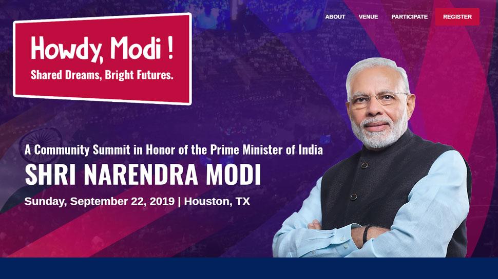 'Howdy Modi': यूएस में भारतीय समुदाय खास अंदाज में करेगा पीएम मोदी का स्वागत