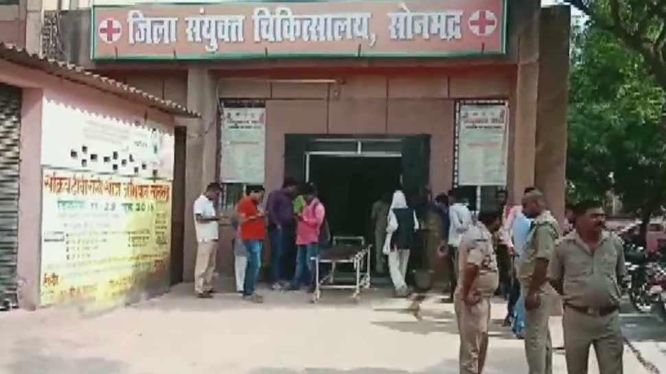 सोनभद्र नरसंहार: पुलिस ने 24 लोगों को किया गिरफ्तार, 60 से ज्यादा लोगों पर केस दर्ज