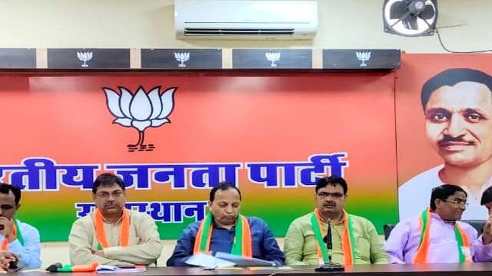 राजस्थान: बीजेपी महामंत्री अरुण सिंह का आरोप, गहलोत सरकार हर मोर्चे पर फेल