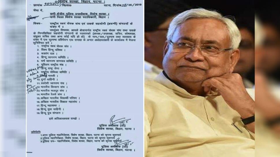 पटना: RSS पत्र को लेकर सियासत तेज, बिहार सरकार के मंत्री ने चिट्ठी को दिया फर्जी करार
