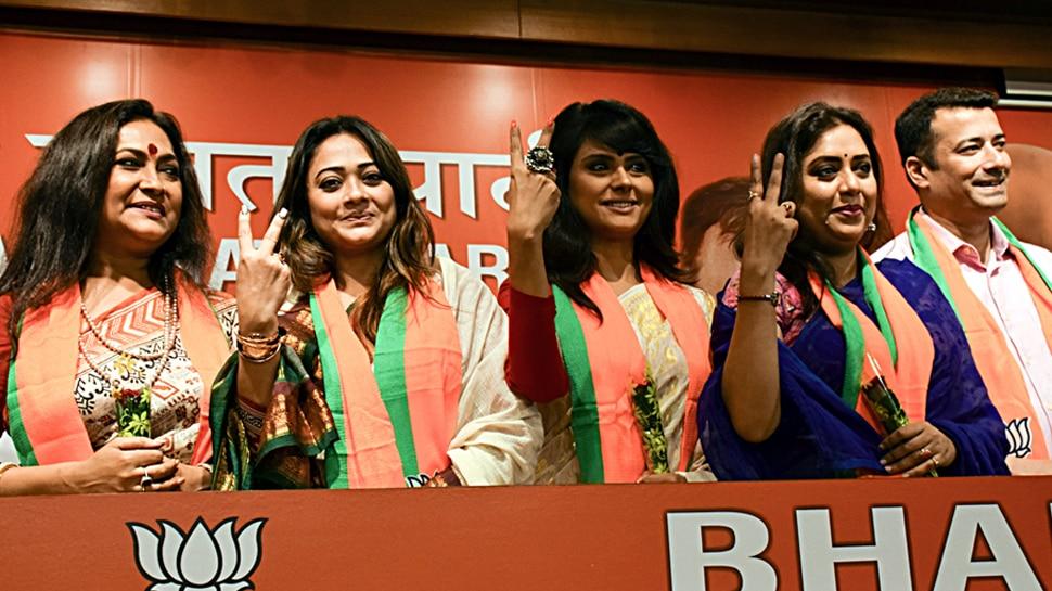 बंगाल में बीजेपी ने तेज किया सदस्यता अभियान, एक दर्जन टीवी सितारे पार्टी में शामिल