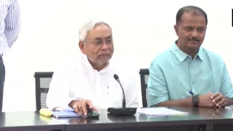 सीएम नीतीश कुमार ने शुरू की बाढ़ पीड़ितों को राहत निधि भेजने की प्रक्रिया
