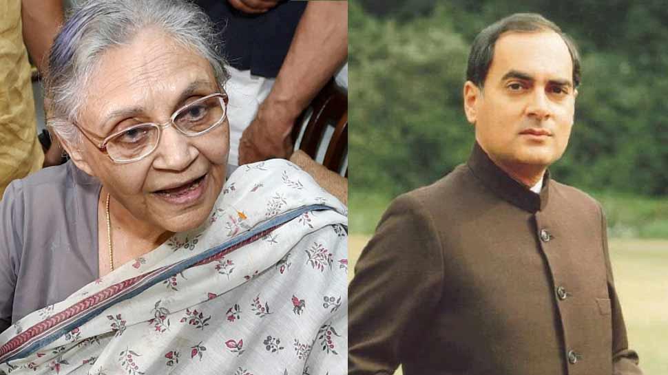 राजीव गांधी को प्रधानमंत्री बनाने में शीला दीक्षित की थी अहम भूमिका, ऐसे बनाई थी रणनीति