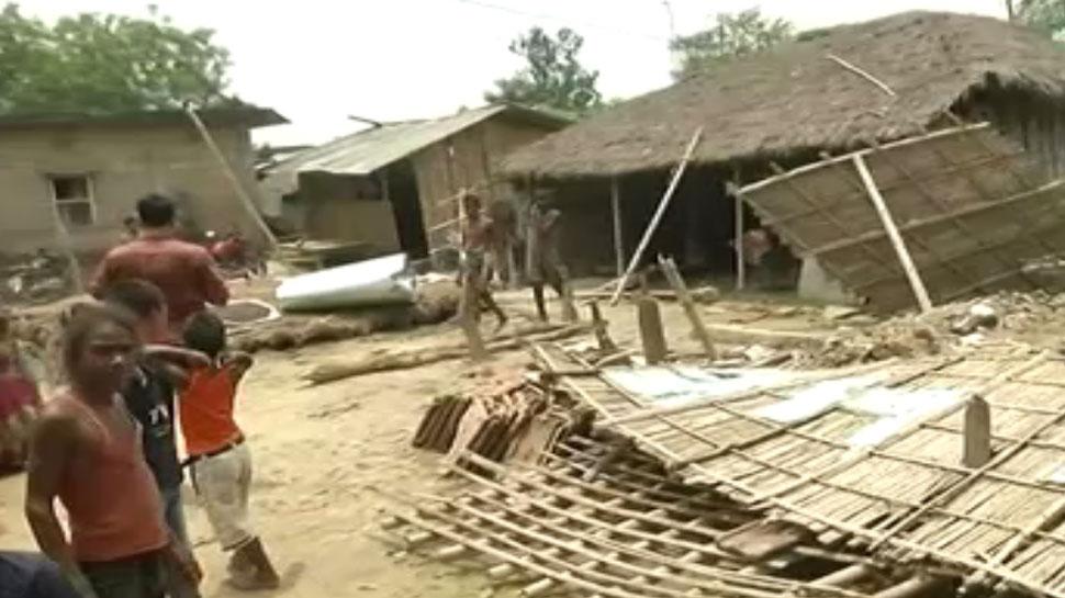 मधुबनी के टेड़ा गांव ने बाढ़ ने मचाई तबाही, ग्राउंड जीरो की रिपोर्ट है भयावह