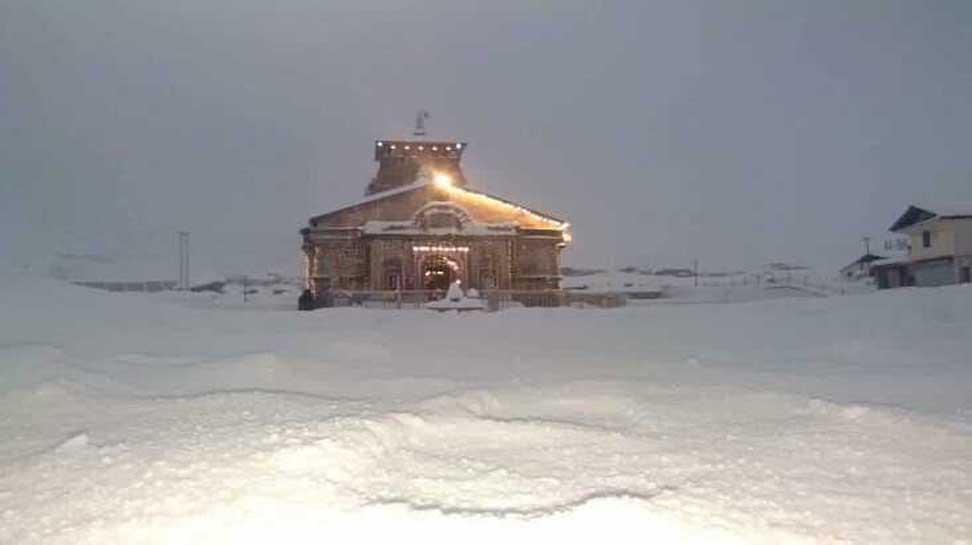 PHOTOS, snowfall, Kedarnath, global warming, scientists