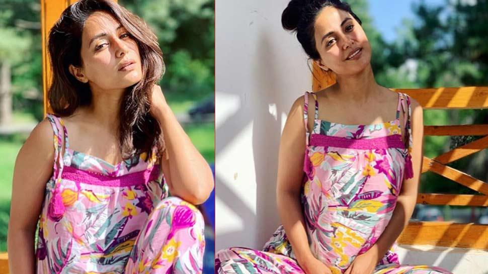 बिना मेकअप के हिना खान ने पोस्ट की PHOTOS, फैंस बोले- 'नेचुरल ब्यूटी'