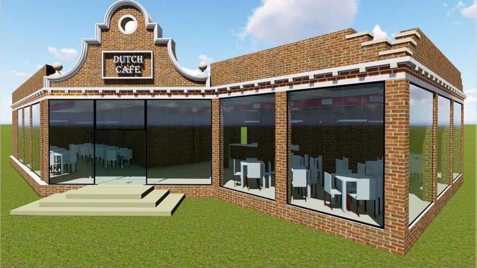 पटना में आकर्षण का केंद्र बनने वाला है गंगा किराने निर्माणाधीन 'डच रेस्टोरेंट'