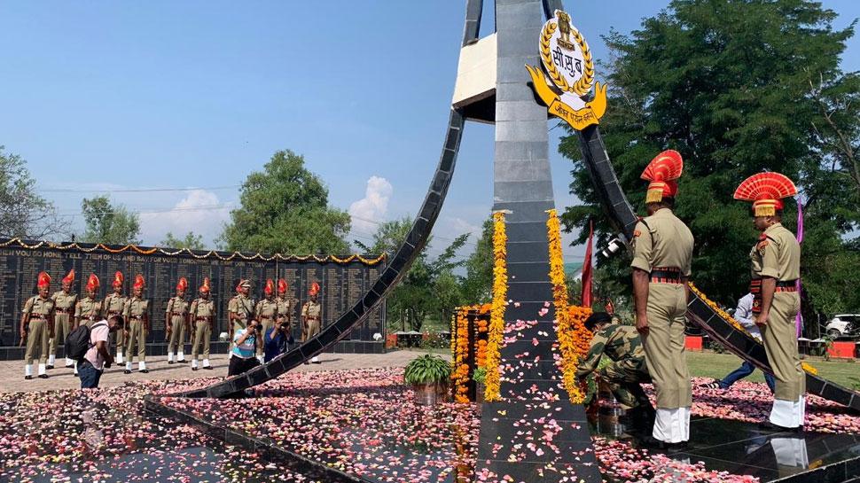 कारगिल युद्ध की 20वीं वर्षगांठ : बीएसएफ ने दी शहीदों को श्रदांजलि