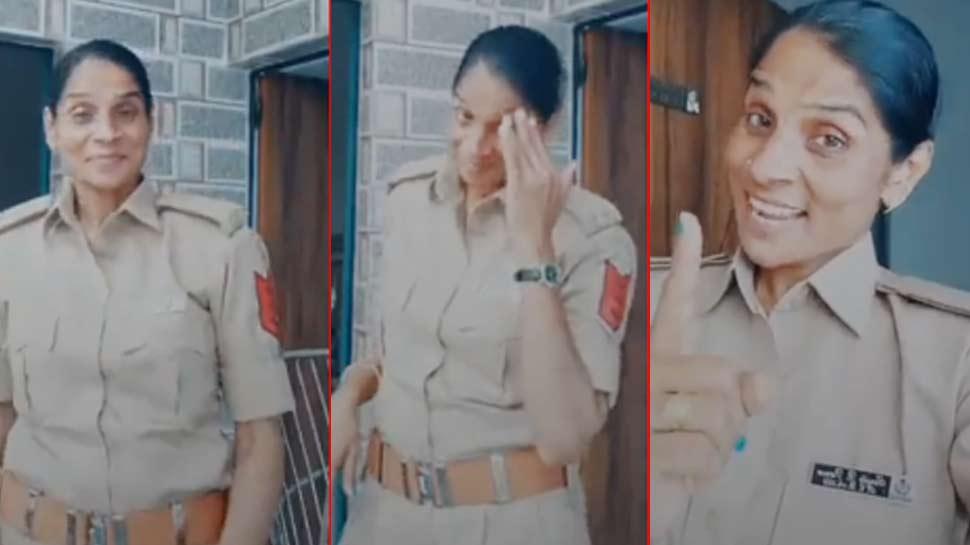 वर्दी पहनकर महिला पुलिसकर्मी को TIK TOK वीडियो बनाना पड़ा भारी, होगी कार्रवाई