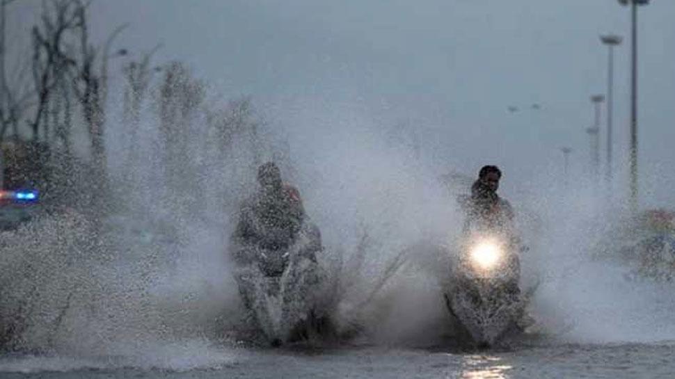 राजस्थान: तेज बारिश के बाद हो रही है बूंदाबांदी, मौसम विभाग ने 29 जुलाई तक जारी किया अलर्ट