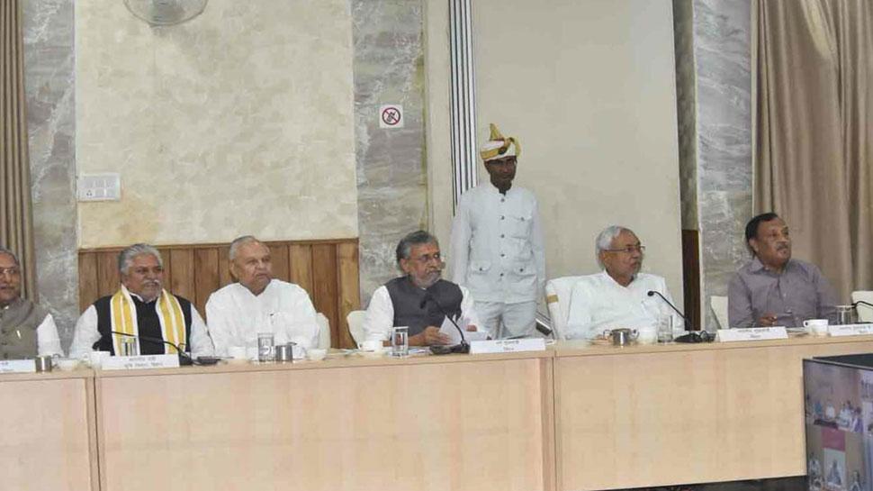 बिहार में आपदा की दोहरी मार पर सीएम नीतीश कुमार ने बुलाई बैठक