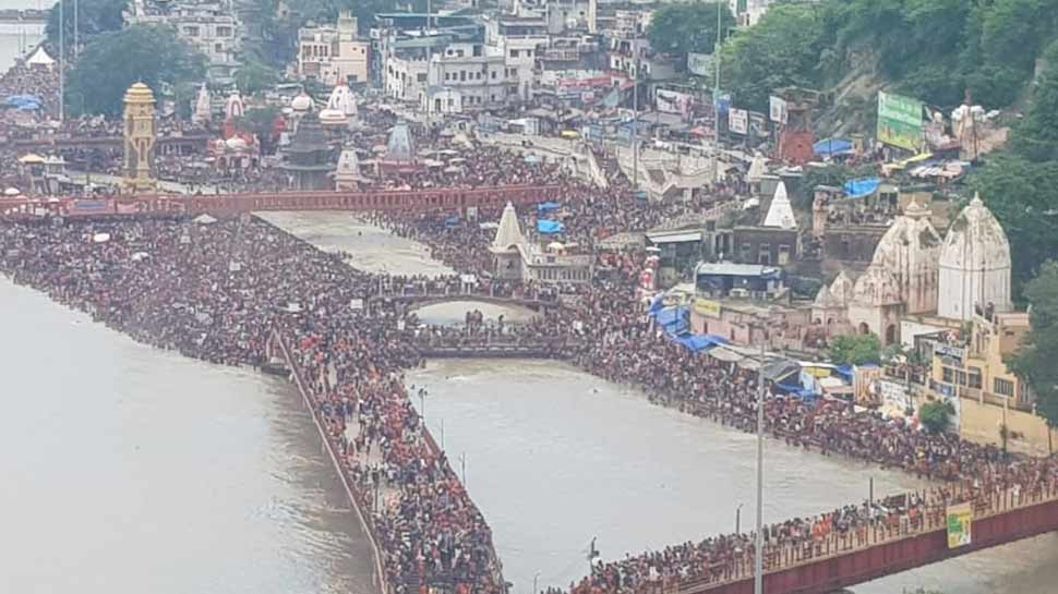 Water is offered on Shivratri
