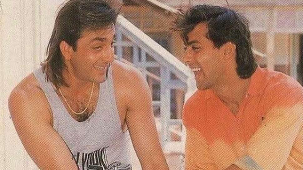 सलमान खान ने शेयर की बरसों पुरानी तस्वीर, संजय दत्त से कहा- 'Happy Birthday Baba'