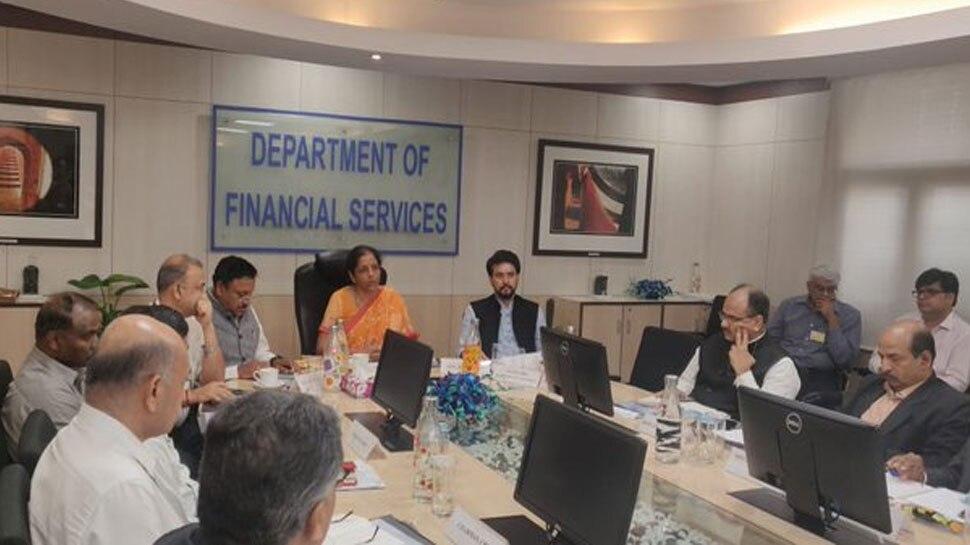 बैंक प्रमुखों के साथ वित्त मंत्री निर्मला सीतारमण की बैठक की प्रमुख बातें