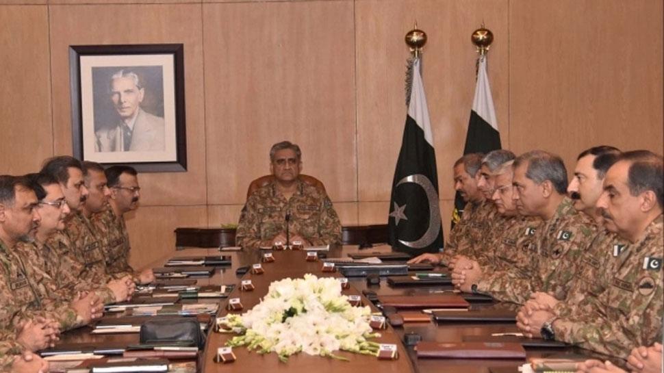 Article 370 हटाए जाने से पाकिस्तान में खलबली, सेना प्रमुख बाजवा ने शीर्ष अधिकारियों की बुलाई बैठक