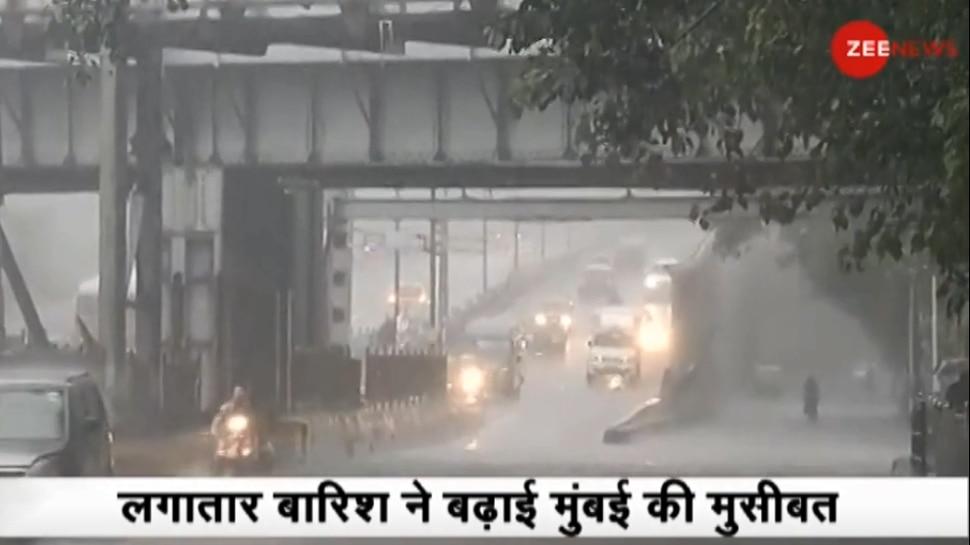 मुंबई में भारी बारिश के साथ हाई टाइड का अलर्ट, समुद्र में उठेंगी 4.35 मीटर ऊंची लहरें