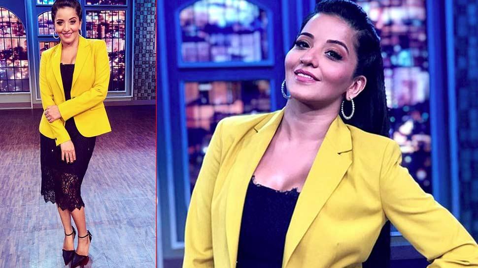sapna chaudhary and monalisa in yellow coat
