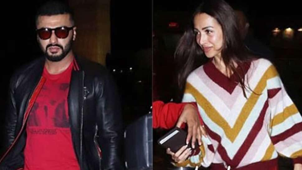 Arjun Kapoor and Malaika Arora flown to Australia