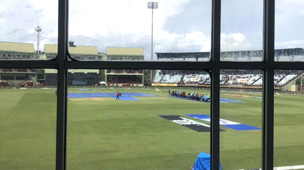 India vs West indies 1st ODI: बारिश के कारण एक बार फिर रुका भारत-विंडीज मैच