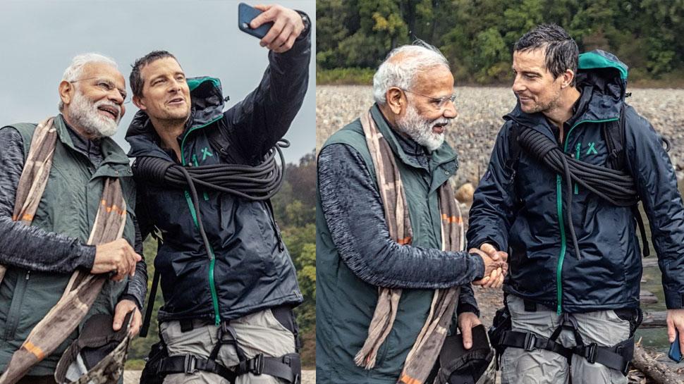 'Man vs Wild': बियर ग्रिल्स ने पीएम मोदी से कहा- 'आप वाकई काफी सुंदर देश में रहते हैं'