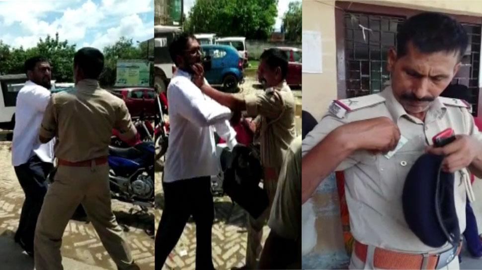 बिहारः दरभंगा में पुलिस की गुंडई, ASI ने अधिवक्ता को पीटा