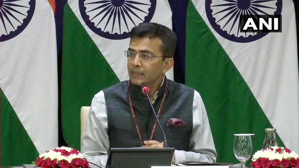 जम्मू कश्मीर भारत का अभिन्न अंग है, जितनी जल्दी हो पाकिस्तान समझ ले: विदेश मंत्रालय