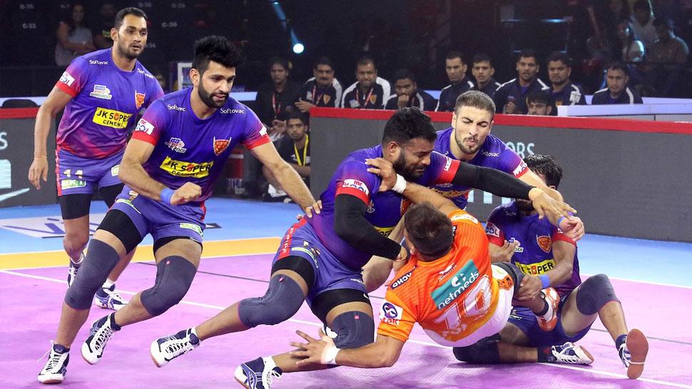 PKL-7: दबंग दिल्ली ने रोमांचक मैच में पुनेरी पल्टन को दी मात