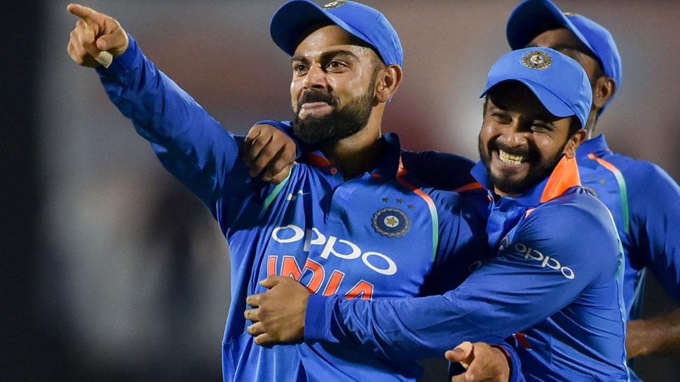 INDvsWI 2nd ODI: कोहली के 42वें शतक और भुवी के चौके ने दिलाई भारत को आसान जीत