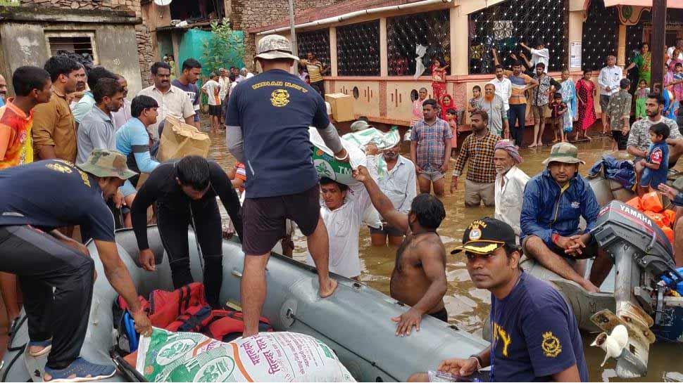 LIVE : देश के चार राज्यों में बाढ़ का कहर जारी, राहत एवं बचाव कार्य जारी