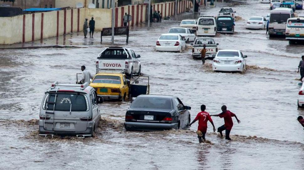मध्य सूडान में भारी बारिश से 7 लोगों की मौत
