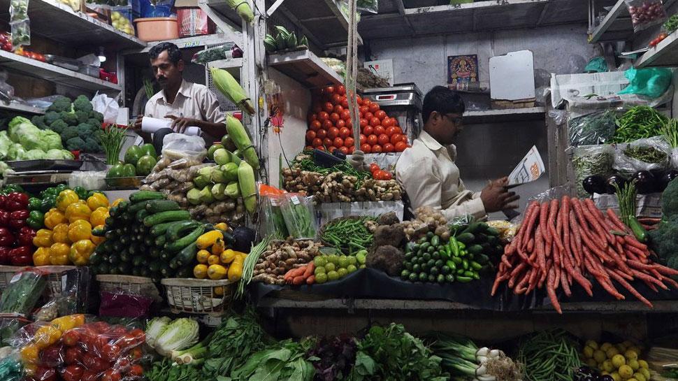 खुदरा महंगाई दर में आई कमी, हालांकि सब्जी हुई महंगी