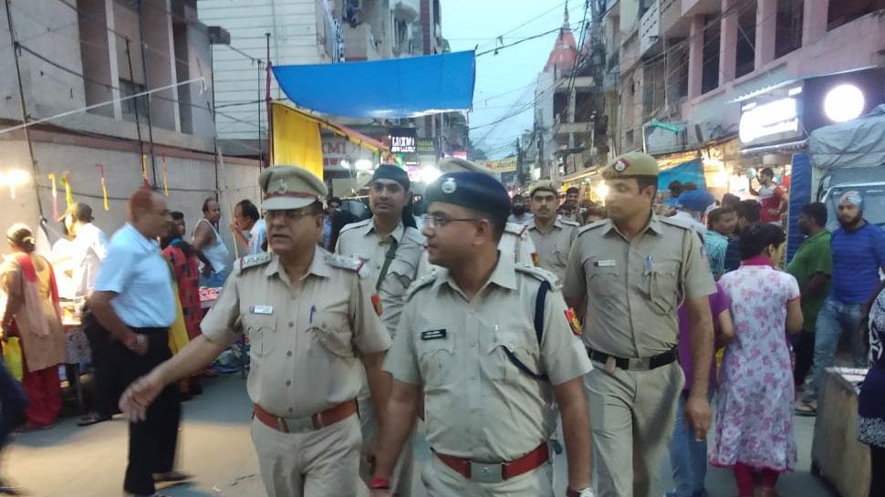 73वें स्वतंत्रता दिवस पर दिल्ली छावनी में तब्दील, चप्पे चप्पे पर सुरक्षाकर्मी तैनात