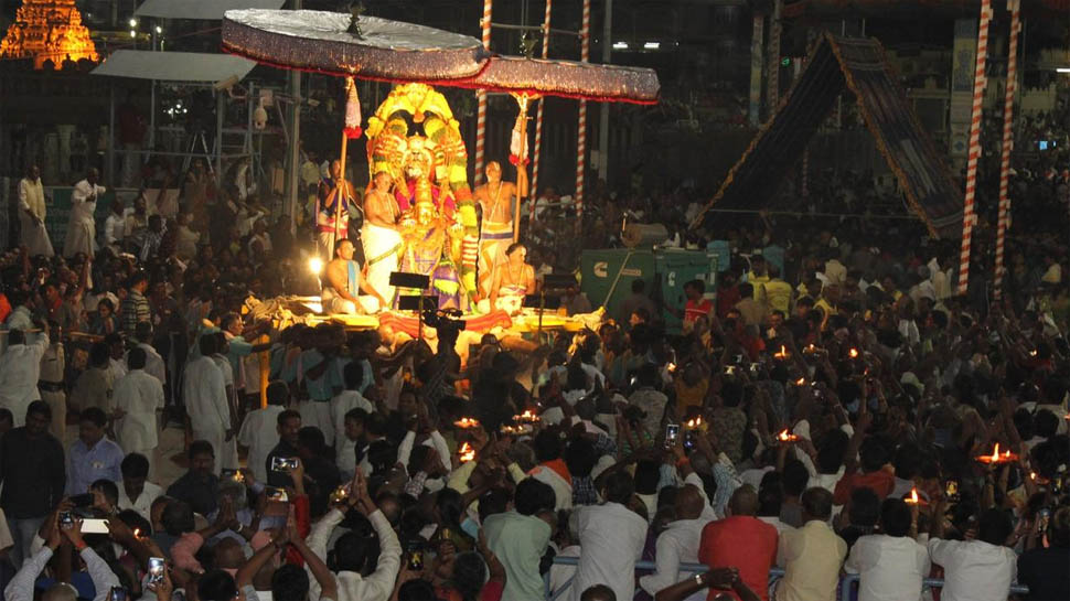 thousand devotees