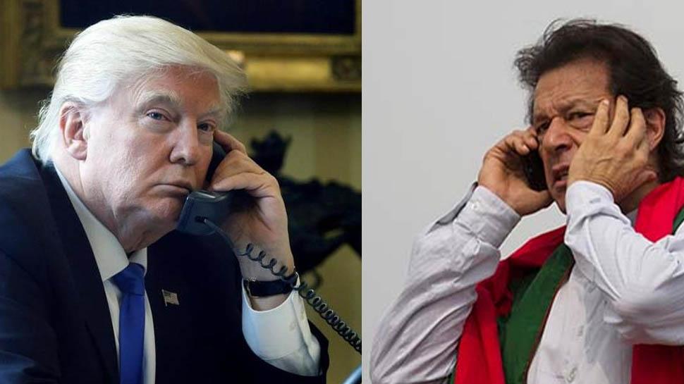 कश्मीर पर UNSC की बैठक से पहले इमरान खान ने डोनाल्ड ट्रंप को किया फोन