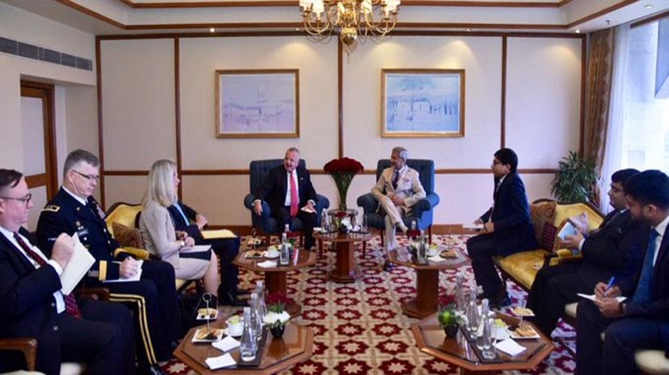 अमेरिकी उप विदेश मंत्री से मिले जयशंकर, रणनीतिक संबधों को आगे बढ़ाने पर हुई चर्चा