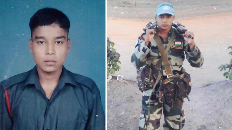 नौशेरा में शहीद लांस नायक संदीप थापा को आज पूरे सैनिक सम्मान के साथ दी जाएगी अंतिम विदाई