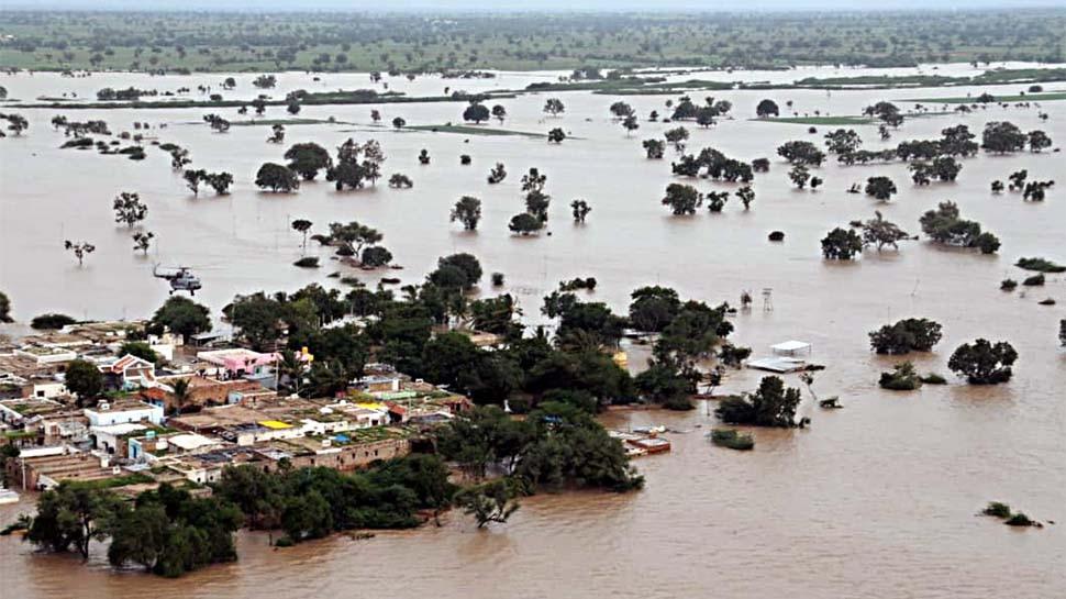 भाखड़ा डैम के फ्लड गेट खुलने से खौफ में पंजाब, आनन्दपुर साहिब के कई गावों में घुसा पानी