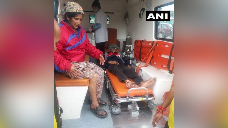 Two persons airlifted from Arakot of Mori tehsil in Uttarkashi