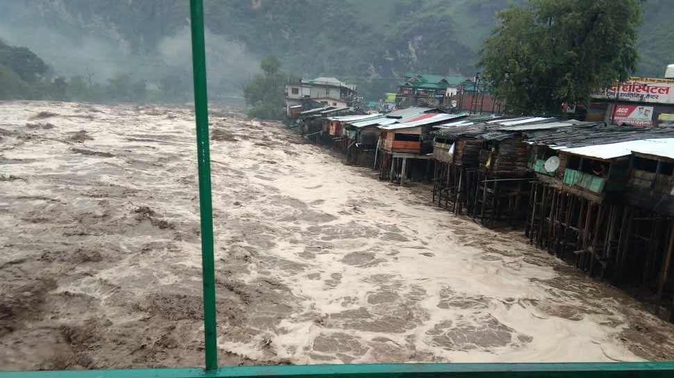 Cloud Burst in Uttarkashi