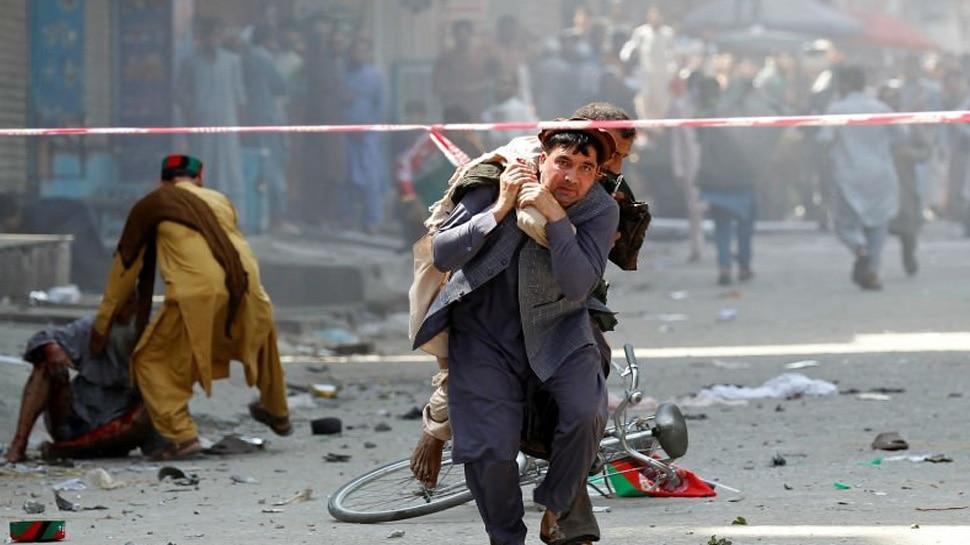 अफगानिस्तान: जलालाबाद में सीरियल बम धमाके, 66 लोग घायल