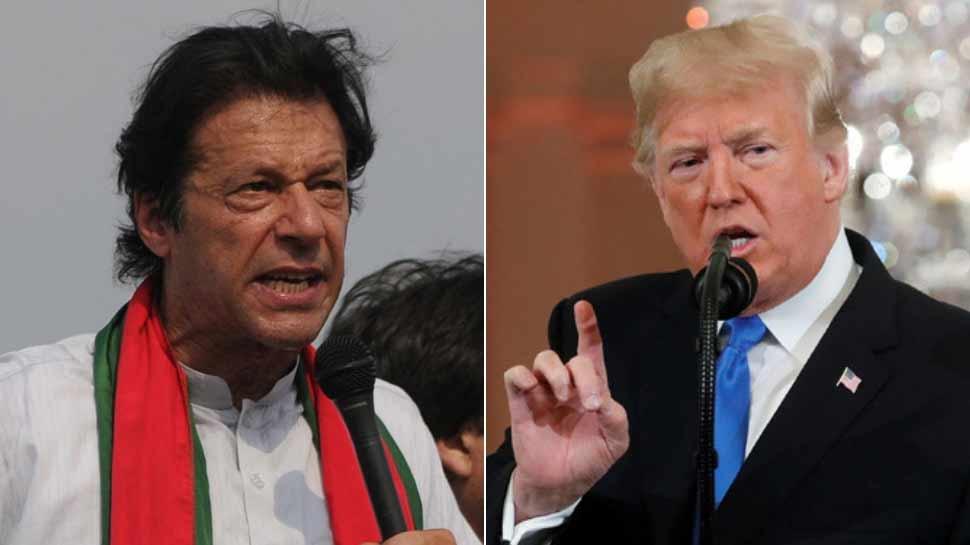 इमरान खान ने अमेरिकी राष्ट्रपति डोनाल्ड ट्रंप से रोया कश्मीर का दुखड़ा! दखल की मांग की